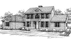 Brick Colonial House Plans 100 Brick Colonial House Plans Colonial Style House Plans