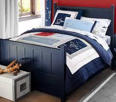 Blue Bed Frame Excellent C Bed Pottery Barn For Navy Blue Frame Popular