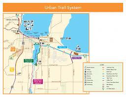 Lake Michigan Beaches Map by Tart Trail Tart Trails Inc
