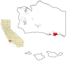 Santa Barbara Map File Santa Barbara County California Incorporated And