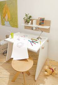 Cute White Desk Wooden Stool Design Fr Study And Laptop Crowdbuild For