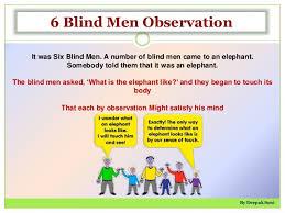 Blind Man And Elephant 6 Blind Man U0026 The Elephant