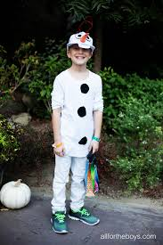 olaf costume diy kids olaf costume all for the boys