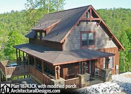 vacation home designs plan 18743ck classic small rustic home plan mountain vacations