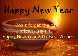 don t forget the past learn from it happy new year 2017 best wishes