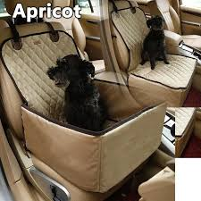 protection siege auto chien siège de voiture pour chien apricot achat vente filet de