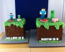 mine craft cakes minecraft cakes sugarlily cakes