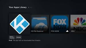 amazon black friday deal on fire stick sideloaded apps like kodi can now be launched from the fire tv