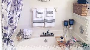 master bathroom decorating ideas u0026 tour youtube