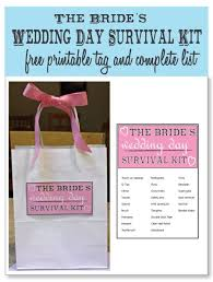 wedding gift kits what to pack in your bridal beauty survival kit survival kits