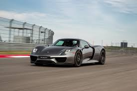electric porsche supercar porsche 918 plug in hybrid supercar ends production after 918 units
