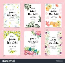 Official Invitation Card Wedding Invitation Card Template Set Stock Vector 679525306