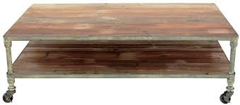 Wooden Coffee Table With Wheels by Best Designs Rustic Coffee Tableshome Design Styling
