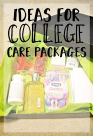 college care package ideas ideas for college care packages