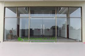 Exterior Office Doors China Manufacturer Commercial Exterior Commercial Frameless Glass