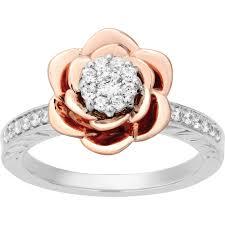 long silver rings images Disney enchanted sterling silver 1 4 ctw diamond 10k goldtone jpg