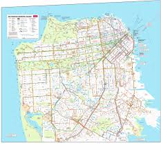 San Francisco Bay Map by Bay Area Transportation Maps Bart Muni Caltrain U0026 More Davide Pio