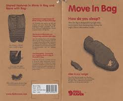 amazon com fjallraven move in sleeping bag three season