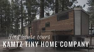 Tiny House Company by Tiny House Tour Kamtz Tiny Home Company Youtube
