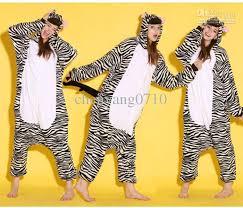 animal zebra onesies onesie pajamas kigurumi
