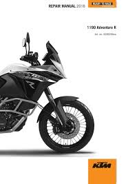 ktm 1190 adventure r 2016 service repair manual 3206256 en free