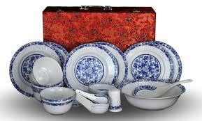 28 Light Blue And White Amazon Com 28 Piece Bone China Blue And White Dinnerware Set