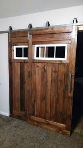 Interior Sliding Door Track Barn Door Hardware Bypass Doors On A Single Rail This Would