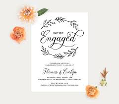 Wedding Announcement Templates Best 25 Engagement Invitation Template Ideas On Pinterest
