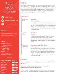 Resume Of Mine My Resume U2014 Project Portfolio