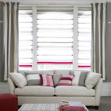 Curtains And Blinds Appealing Curtains With Blinds And Intended For Plans 4
