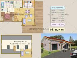 cuisine maison bois plan gratuit de chalet en bois en kit et plan de maison bois