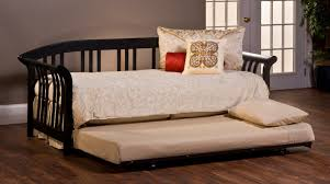 bedroom furniture classic white wooden day bed with trundle
