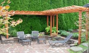 Wooden Outside Chairs Furniture Gorgeous Wooden Patio Canopy Bring Fascinating Look Of