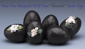 faux easter eggs easter eggstravaganza how to make faux chocolate easter eggs