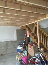 custom ceiling storage in garage massive overhead storage lofts