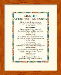 wedding blessing wedding blessing apache wedding blessing framed