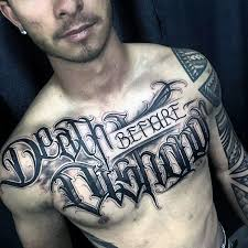40 death before dishonor tattoo designs for men manly ink ideas