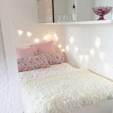 Best Bedroom Fairy Light Ideas Images On Pinterest Bedroom - Pink fairy lights for bedroom