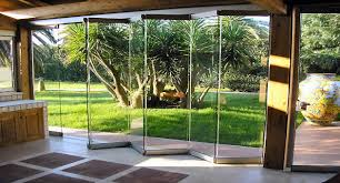 Interior Folding Glass Doors The Giemme System All Glass Folding Doors Ideal For Closing