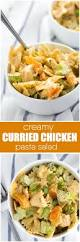 Creamy Pasta Salad Recipes by Creamy Curried Chicken Pasta Salad Simply Stacie