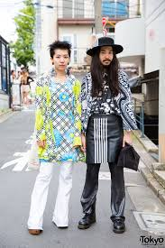 70 S Fashion Harajuku Duo In 70s Style And Graphic Black And White Resale Fashion