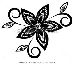vine flowers black and white free vector 20 542 free