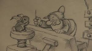 rare disney drawings up for sale bbc news
