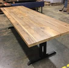 Oak Meeting Table Reclaimed Wood Conference Table With Chairs Homyxl Within Ideas 1