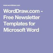 best 25 newsletter templates word ideas on pinterest games of