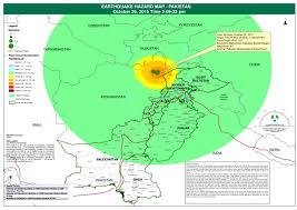 earthquake hazard map earthquake hazard map pakistan october 26 2015 time 2 09 32 pm