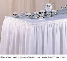 rent table skirts from bright settings
