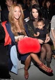 Kim Kardashian Pregnant Meme - beyoncé posts cosy instagram with kim kardashian front row