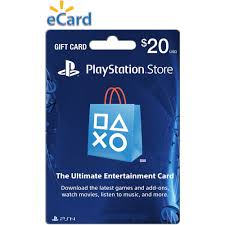 ecard gift card 20 playstation store gift card email delivery walmart