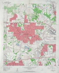 Dallas County Map by